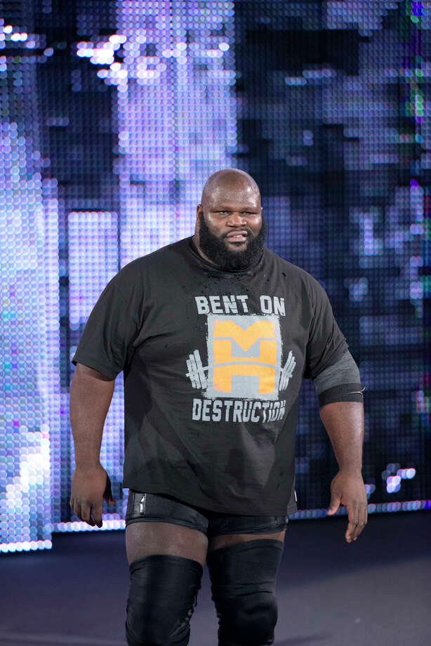 """The World's Strongest Man"" Mark Henry is set to compete at Road to Wrestlemania at Webster Bank Arena in Bridgeport on Friday, March 21. Photo: Contributed Photo / Connecticut Post Contributed"