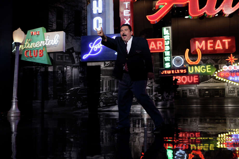 "Guillermo takes the stage on Monday, March 10, 2014, for the first show of a week of ""Jimmy Kimmel Live"" broadcasts from  Austin. Photo: Randy Holmes, ABC Via Getty Images / 2014 American Broadcasting Companies, Inc."