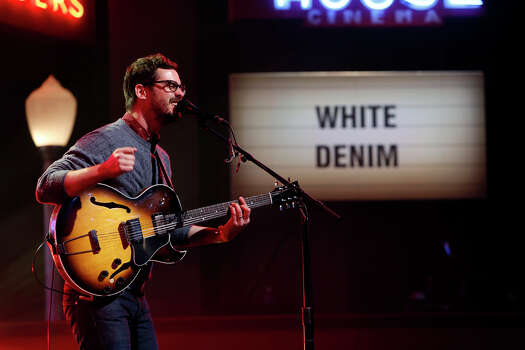 """White Denim performs on Monday, March 10, 2014, for the first show of a week of """"Jimmy Kimmel Live"""" broadcasts from  Austin. Photo: Randy Holmes, ABC Via Getty Images / 2014 American Broadcasting Companies, Inc."""