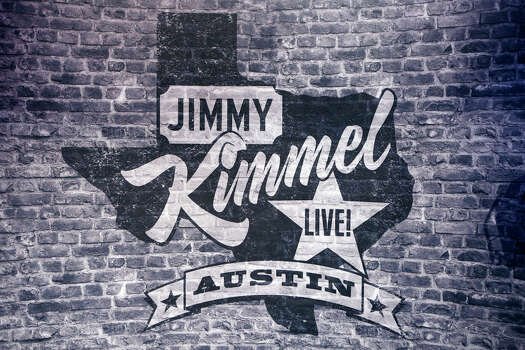 """This week, ABC's """"Jimmy Kimmel Live"""" broadcasts from The Joe R. and Teresa Lozano Long Center for the Performing Arts in Austin for a week of shows associated with South by Southwest. Photo: Randy Holmes, ABC Via Getty Images / 2014 American Broadcasting Companies, Inc."""