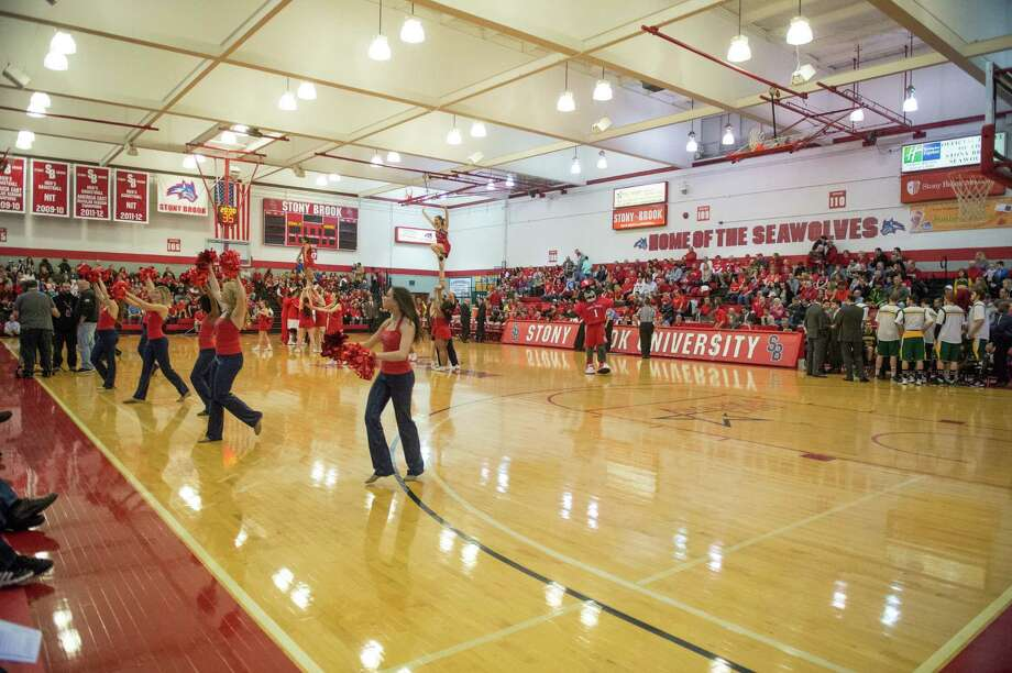 Pritchard Gymnasium. (Courtesy Stony Brook)