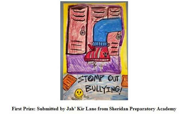 Jah' Kir Lane of Sheridan Preparatory Academy is the winner of the 2014 Building Communities Youth Art Contest with this art work. (Submitted photo) Photo: Devendorf, Justin