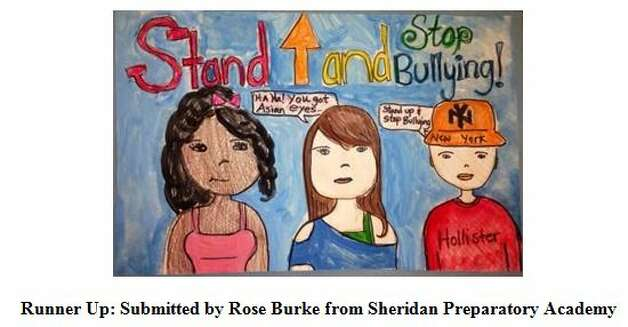 Runner-up Rose Burke of Sheridan Preparatory Academy  in the 2014 Building Communities Youth Art Contest. Photo: Devendorf, Justin