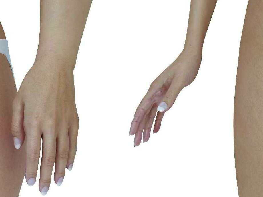 Barbie's hands are tiny! Photo: Nikolay Lamm