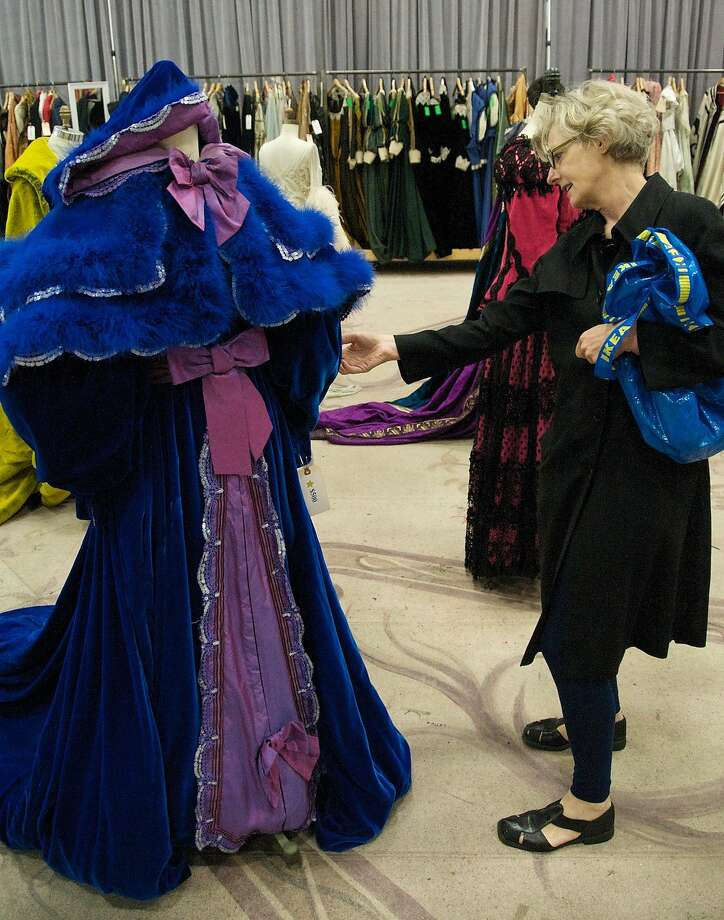 The San Francisco Opera is opening its scene shop and selling costumes for men, women and children, as well as hats, masks, shoes and rolls of fabric remainders. Photo: San Francisco Opera
