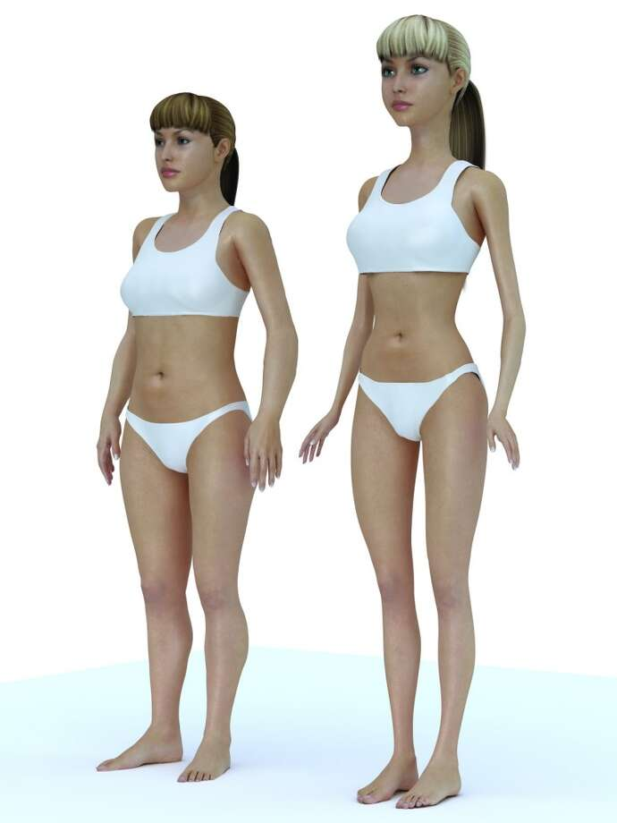 Barbie is huge! She is 5 inches taller than the average young woman. Photo: Nikolay Lamm