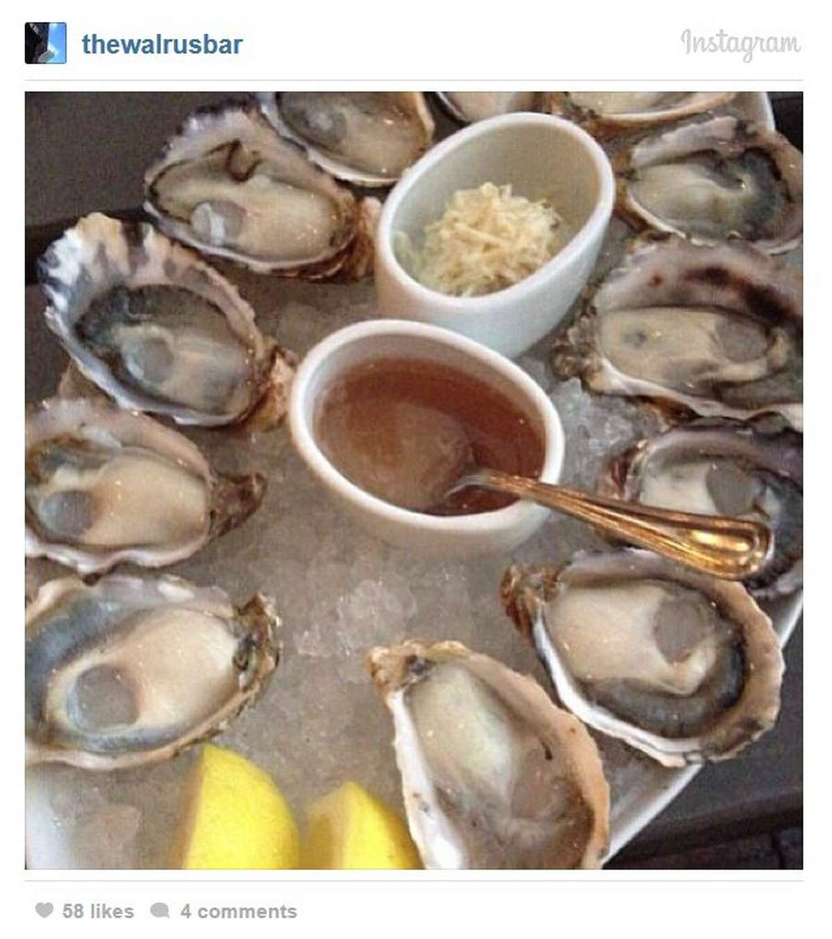 The Walrus and the Carpenter : Foodies love this place for its fresh oysters and seasonal cuisine so much that they're willing to endure very long waits. 4743 Ballard Ave. N.W., Ballard. Photo: thewalrusbar, Instagram.