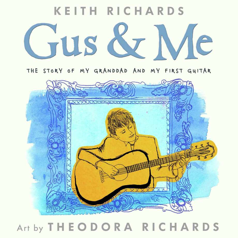 """""""Gus & Me"""" tells the story of how Keith Richards was introduced to the guitar by his grandfather. Photo: HOEP / Little, Brown Books for Young Re"""