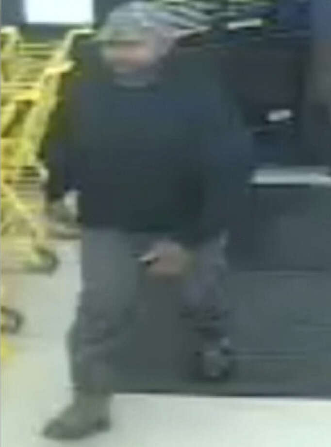 Crime Stoppers and the SAPD are seeking information on this suspect from a robbery Saturday night at a Dollar General. Photo: Courtesy Of Crime Stoppers