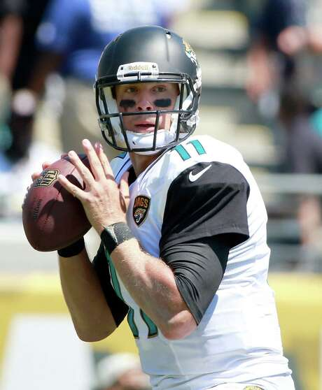 The Jaguars traded former Missouri standout QB Blaine Gabbert to the 49ers for a sixth-round draft pick. Photo: Sam Greenwood / Getty Images / 2013 Getty Images