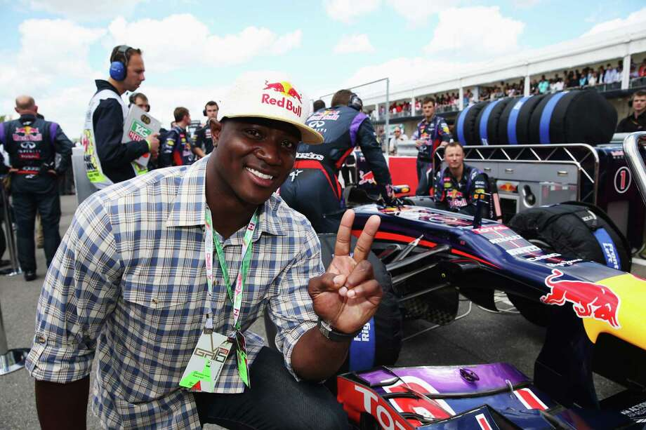 American footballer DeMarcus Ware is seen on the grid before the Canadian Formula One Grand Prix at the Circuit Gilles Villeneuve on June 9, 2013 in Montreal, Canada.  (Photo by Mark Thompson/Getty Images) Photo: Mark Thompson, Staff / 2013 Getty Images