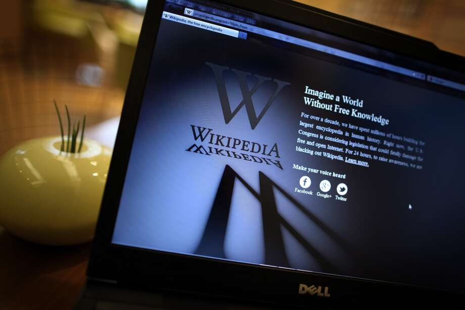 An openly editable information source, Wikipedia went online in 2001. It's available for free in 285 languages. Wikipedia shut down its English language service for 24 hours on Jan. 18, 2012, in protest over US anti-piracy laws. Photo: Peter Macdiarmid, Getty Images