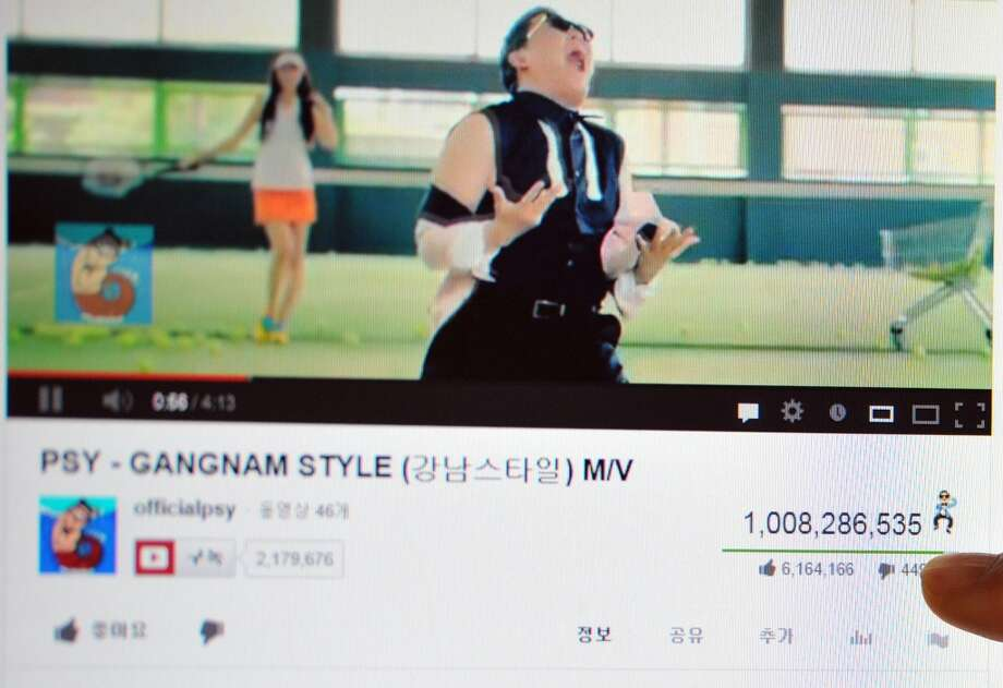 "San Mateo-based YouTube brought video streaming to the masses when it was born in 2005. The company was purchased by Google the following year. Its most-watched video is Psy's ""Gangnam Style,"" which currently boasts 1.9 billion views. Photo: KIM JAE-HWAN, AFP/Getty Images"