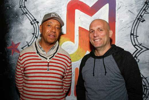 AUSTIN, TX - MARCH 11:  Founder All Def Music Russell Simmons and CEO ADD Management Steve Rifkind attend the All Def Digital (ADD) and All Def Music with Samsung launch of ADD52 at SXSW on March 11, 2014 in Austin, Texas. Photo: Rick Kern, Getty Images For Samsung / 2014 Getty Images