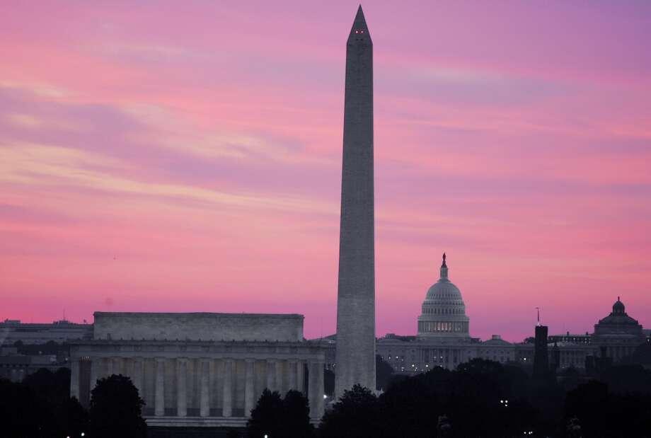 17. Washington, D.C., down 0.2 percent. Photo: RON EDMONDS, AP
