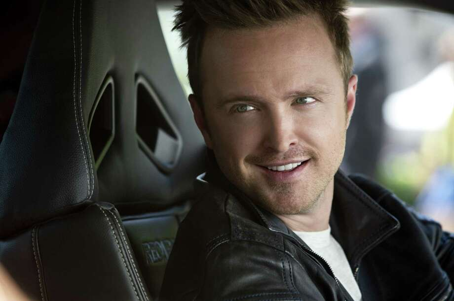 """This image released by DreamWorks II shows Aaron Paul in a scene from """"Need for Speed."""" (AP Photo/DreamWorks II, Melinda Sue Gordon) Photo: Melinda Sue Gordon, HOEP / DreamWorks II"""