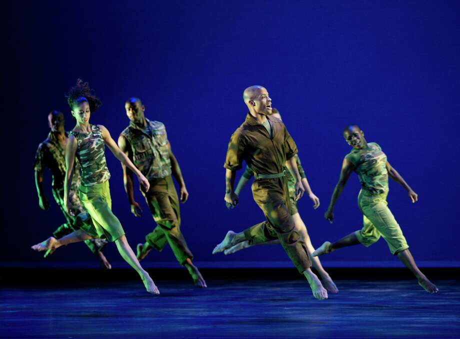 Alvin Ailey American Dance Theater will perform Friday and Saturday at Jones Hall. Photo: Paul Kolnik / ONLINE_YES