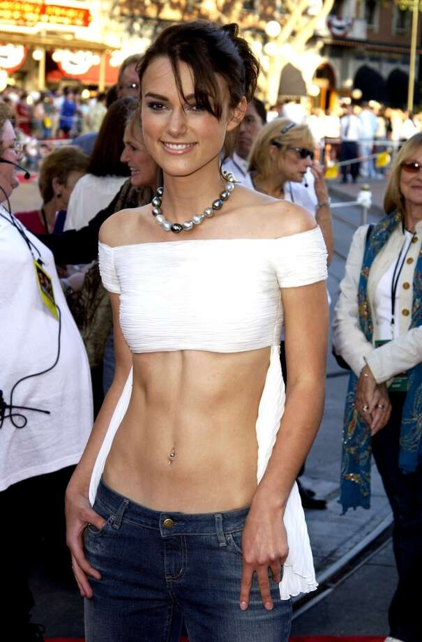 Keira Knightley at the Disneyland in Anaheim, 2003. Photo: Steve Granitz, WireImage