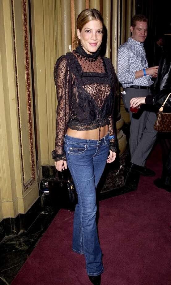 Tori Spelling in 2001. Photo: J. Vespa, WireImage