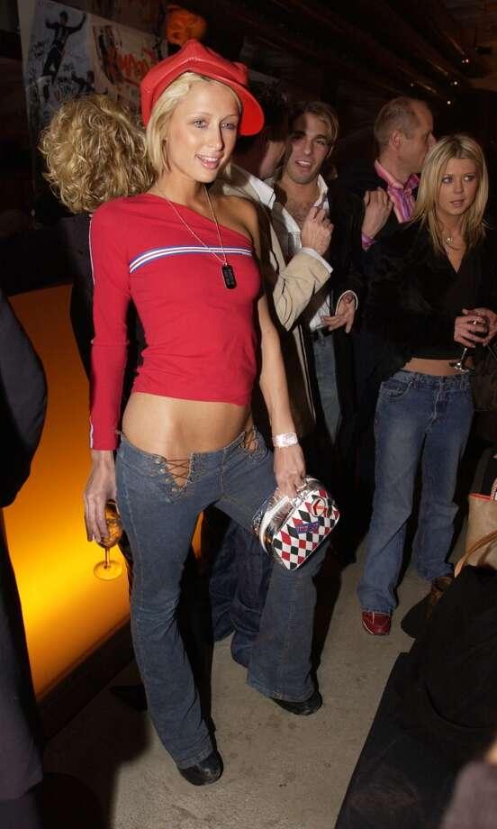 Paris Hilton in New York City, 2002. Photo: J. Vespa, WireImage