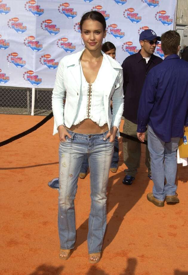Jessica Alba during Nickelodeon's 15th Annual Kids Choice Awards in Santa Monica, 2002. Photo: SGranitz, WireImage