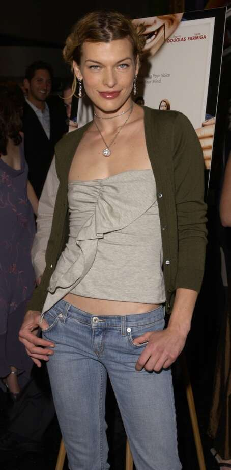 "Milla Jovovich during the New York Premiere of ""Dummy"" in 2003. Photo: RJ Capak, WireImage"