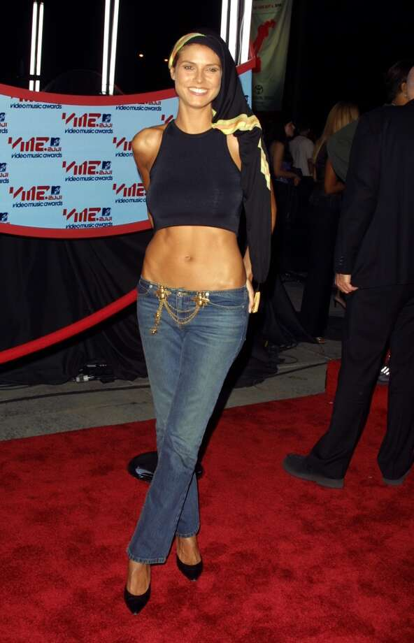 Heidi Klum in  2001 Photo: Jim Spellman, WireImage