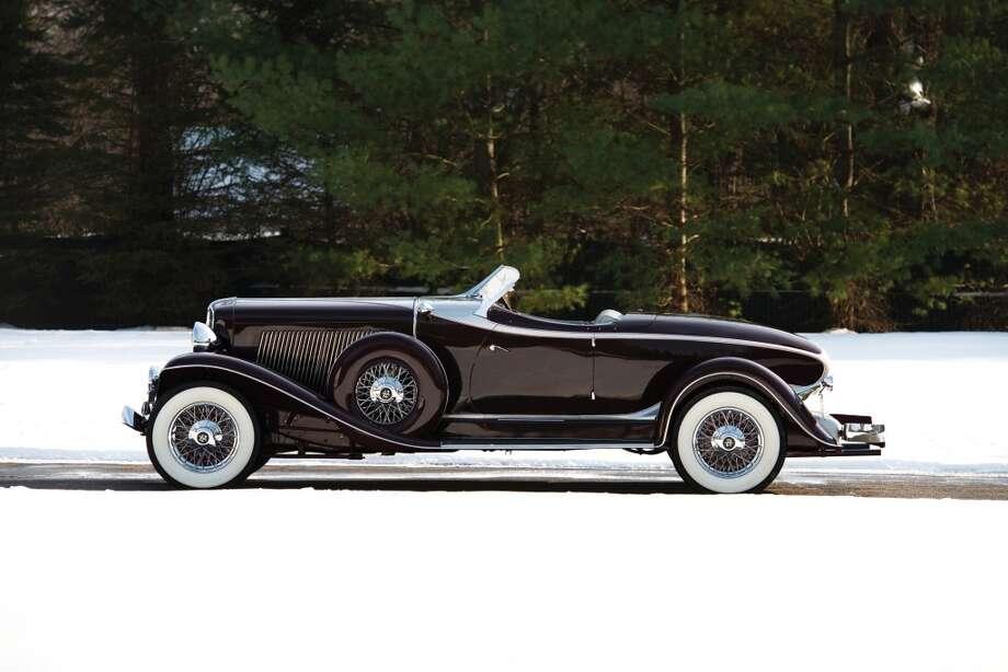 1934 Auburn Twelve Salon Speedster Photo: Darin Schnabel, Courtesy Of RM Auctions
