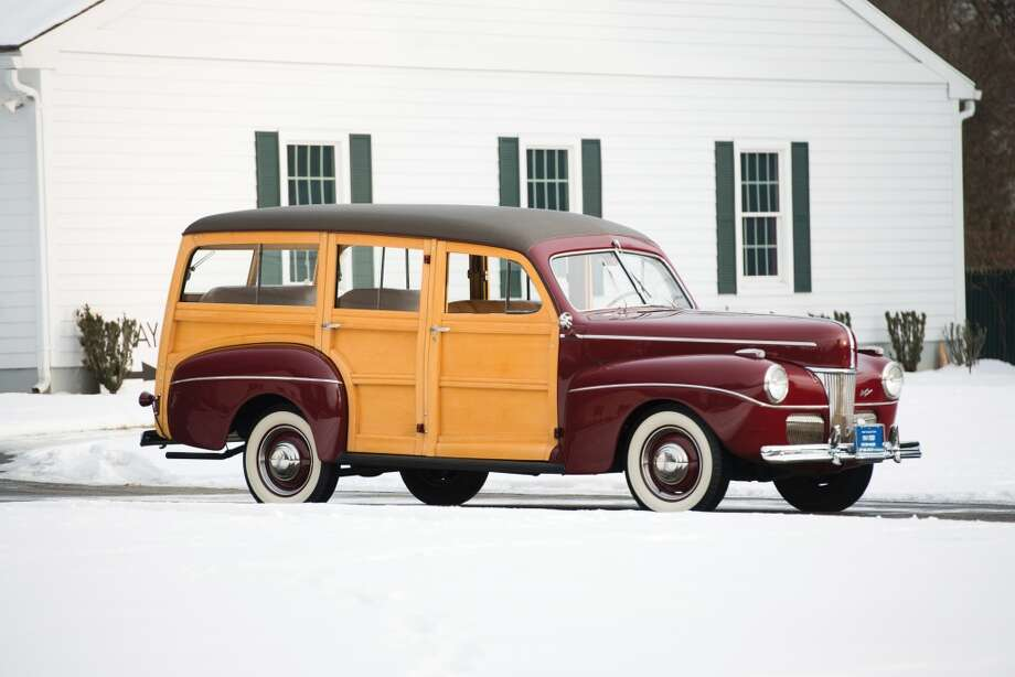 1941 Ford SUper DeLuxe Station Wagon Photo: Darin Schnabel, Courtesy Of RM Auctions