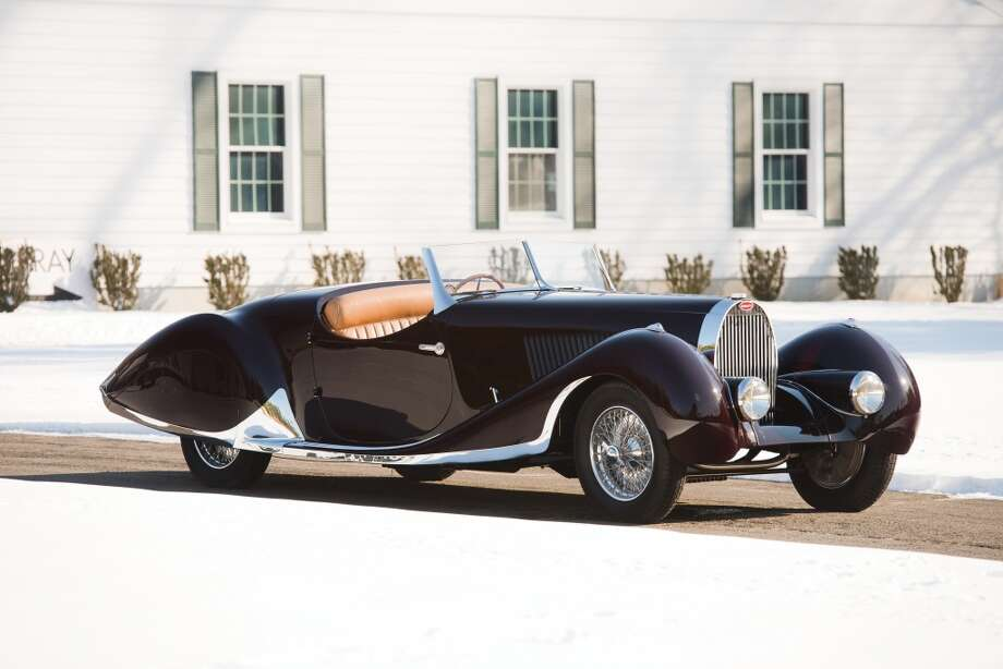 1937 Bugatti Type 57C Roadster Photo: Darin Schnabel, Courtesy Of RM Auctions