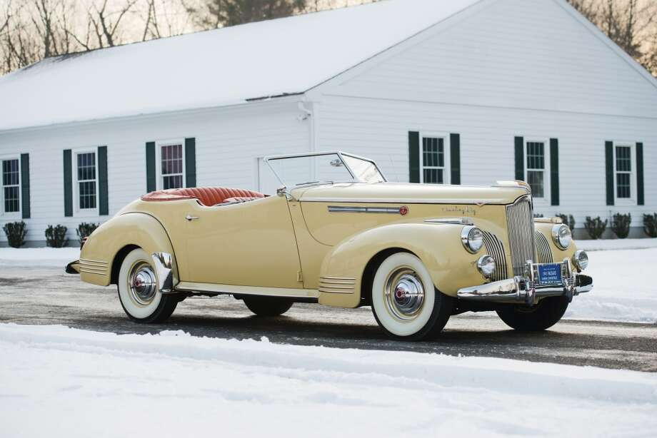 1941 Packard Super Eight 180 Convertible Victoria Photo: Darin Schnabel, Courtesy Of RM Auctions