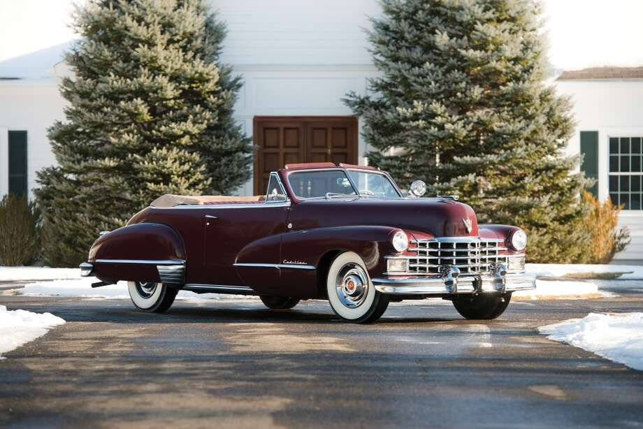 1947 Cadillac Series 62 Convertible Photo: Darin Schnabel, Courtesy Of RM Auctions