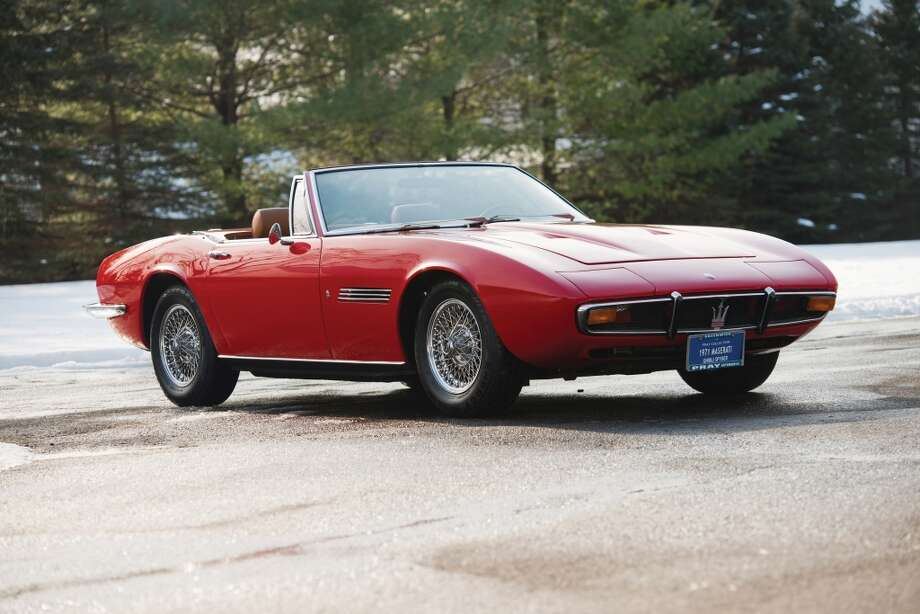 1970 Maserati Ghibli Spyder Photo: Darin Schnabel, Courtesy Of RM Auctions