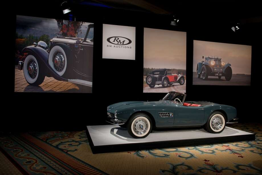 1958 BMW 507 Series II Roadster Photo: Darin Schnabel, Courtesy Of RM Auctions