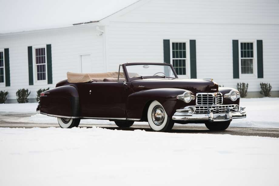 1948 Lincoln Continental Cabriolet Photo: Darin Schnabel, Courtesy Of RM Auctions