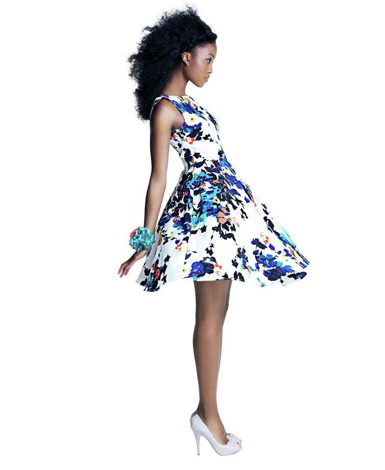 Betsey Johnson floral fit and flare dress, $148, at Macy's Photo: Macy's / ONLINE_YES