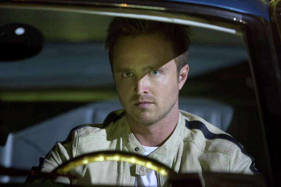 "This image released by DreamWorks II shows Aaron Paul in a scene from ""Need for Speed."" (AP Photo/DreamWorks II, Melinda Sue Gordon) ORG XMIT: NYET557 Photo: Melinda Sue Gordon / DreamWorks II"