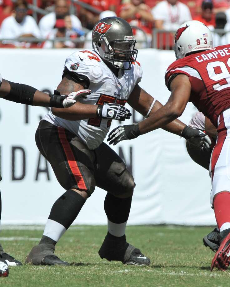 Guard  Carl Nicks  Tampa Bay Buccaneers  Base salary: $7 million Photo: Al Messerschmidt, Getty Images
