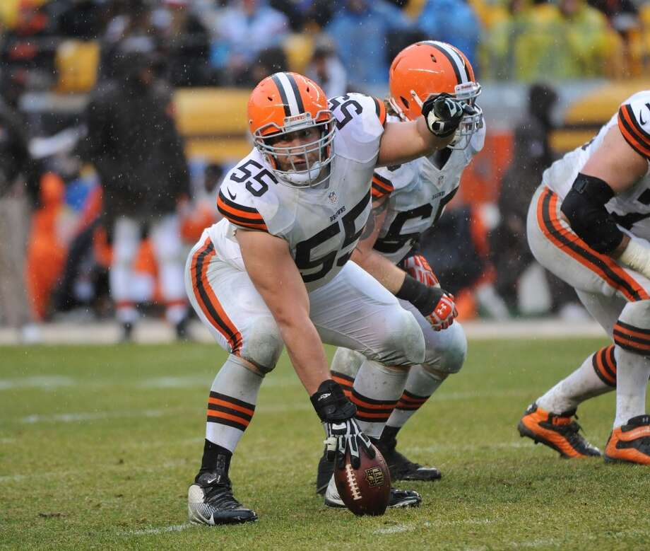 Center  Alex Mack  Cleveland Browns  Base salary: $10 million Photo: George Gojkovich, Getty Images