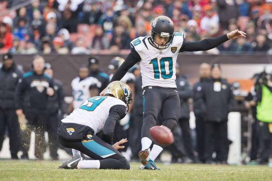 Kicker  Josh Scobee  Jacksonville Jaguars  Base salary: $3.2 million Photo: Jason Miller, Getty Images