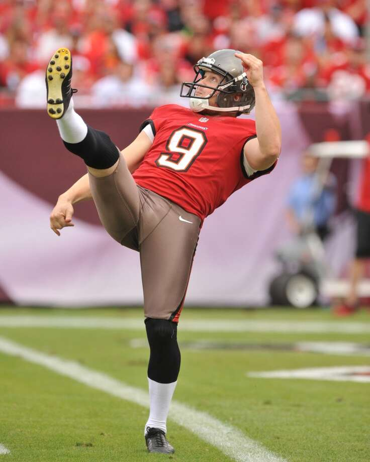 Punter (tie)  Michael Koenen  Tampa Bay Buccaneers  Base salary: $3.2 million Photo: Al Messerschmidt, Getty Images