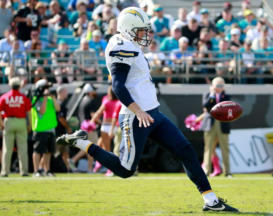 Punter (tie)  Mike Scifres  San Diego Chargers  Base salary: $3.2 million Photo: Sam Greenwood, Getty Images