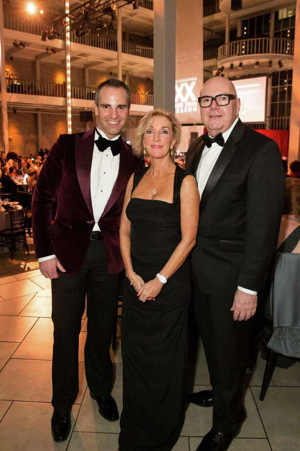 "Darren Anderson, Mary Hand and Robert Atkinson at Smuin Ballet's ""XXTRAVAGANZA"" Gala on March 7, 2014. Photo: Drew Altizer Photography/SFWIRE, Drew Altizer Photography / ©2014 by Drew Altizer, all rights reserved"
