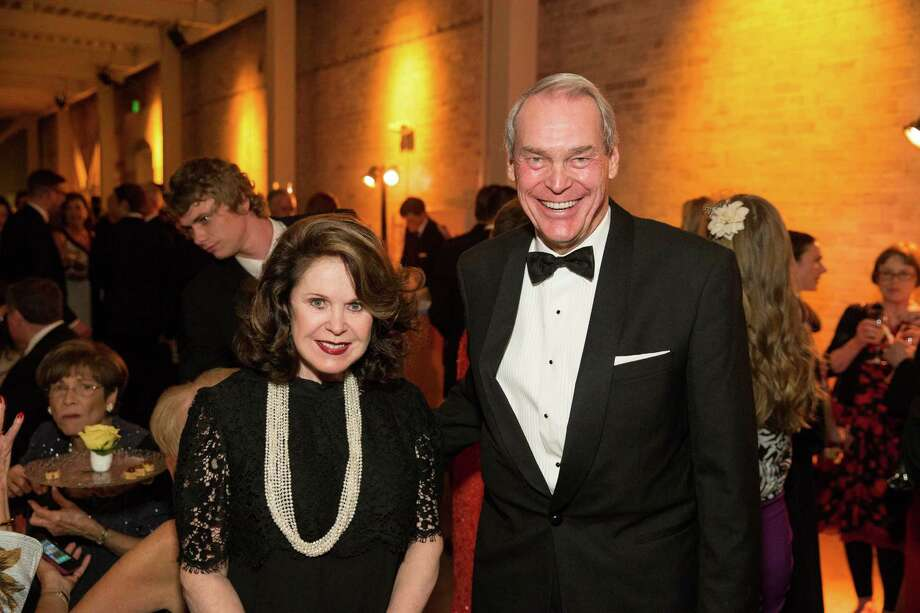 """Ann Moller Caen and Doug Fenton at Smuin Ballet's """"XXTRAVAGANZA"""" Gala on March 7, 2014. Photo: Drew Altizer Photography/SFWIRE, Drew Altizer Photography / ©2014 by Drew Altizer, all rights reserved"""