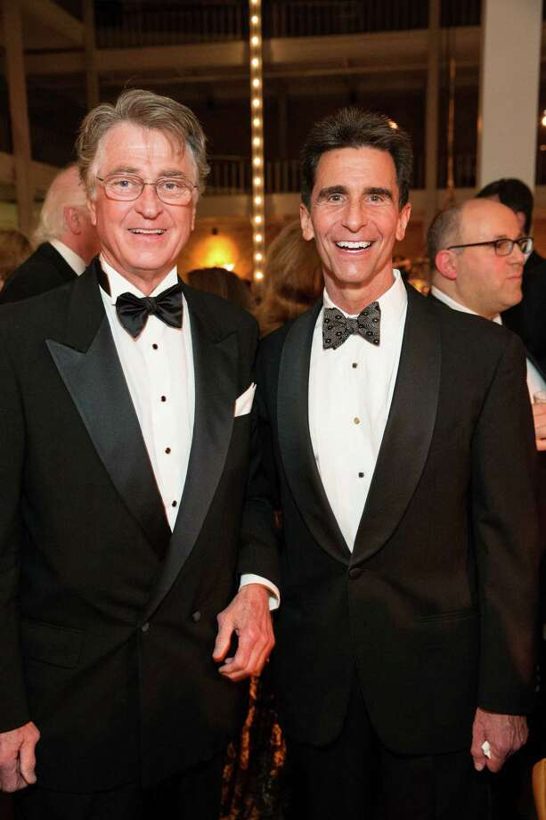 "Leon Huntting and Senator Mark Leno at Smuin Ballet's ""XXTRAVAGANZA"" Gala on March 7, 2014. Photo: Drew Altizer Photography/SFWIRE, Drew Altizer Photography / ©2014 by Drew Altizer, all rights reserved"