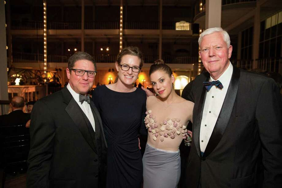 "Myron Marx, Carly Bliss, Susan Roemer and Jerry Hume at Smuin Ballet's ""XXTRAVAGANZA"" Gala on March 7, 2014. Photo: Drew Altizer Photography/SFWIRE, Drew Altizer Photography / ©2014 by Drew Altizer, all rights reserved"