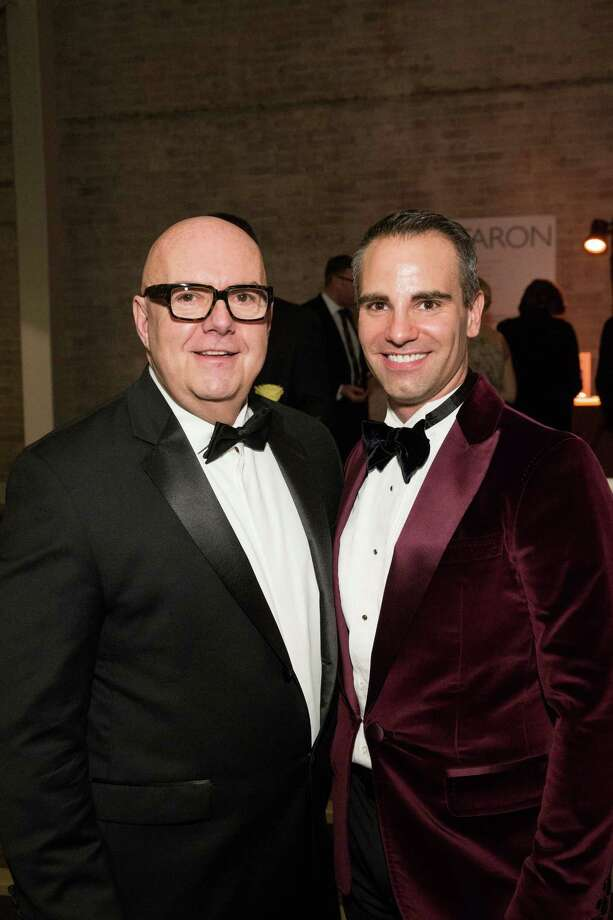 "Robert Atkinson and Darren Anderson at Smuin Ballet's ""XXTRAVAGANZA"" Gala on March 7, 2014. Photo: Drew Altizer Photography/SFWIRE, Drew Altizer Photography / ©2014 by Drew Altizer, all rights reserved"