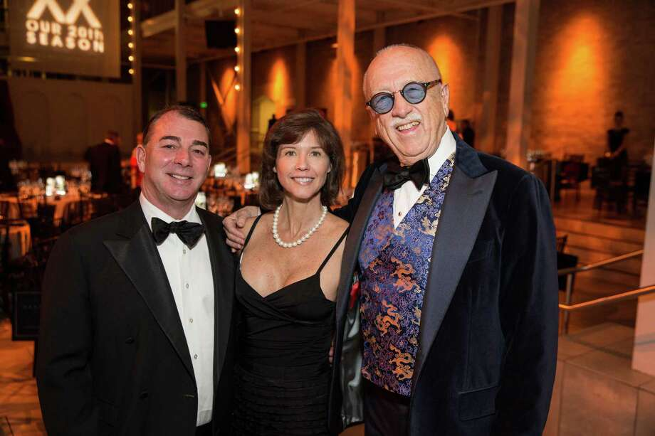 "Marc Corsi, Melissa Corsi and Wilkes Bashford at Smuin Ballet's ""XXTRAVAGANZA"" Gala on March 7, 2014. Photo: Drew Altizer Photography/SFWIRE, Drew Altizer Photography / ©2014 by Drew Altizer, all rights reserved"