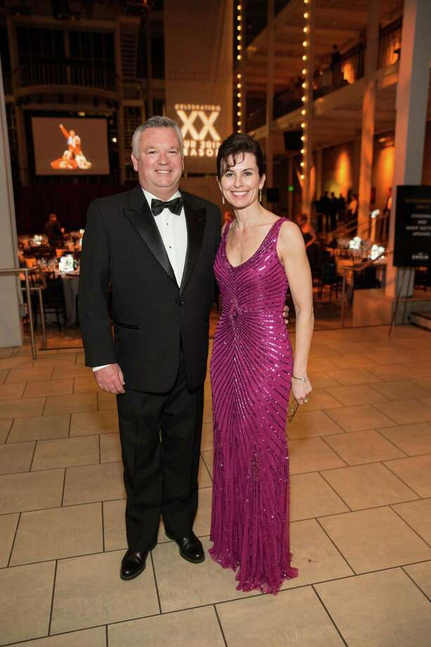 "Tom Jackson and Celia Fushille at Smuin Ballet's ""XXTRAVAGANZA"" Gala on March 7, 2014. Photo: Drew Altizer Photography/SFWIRE, Drew Altizer Photography / ©2014 by Drew Altizer, all rights reserved"