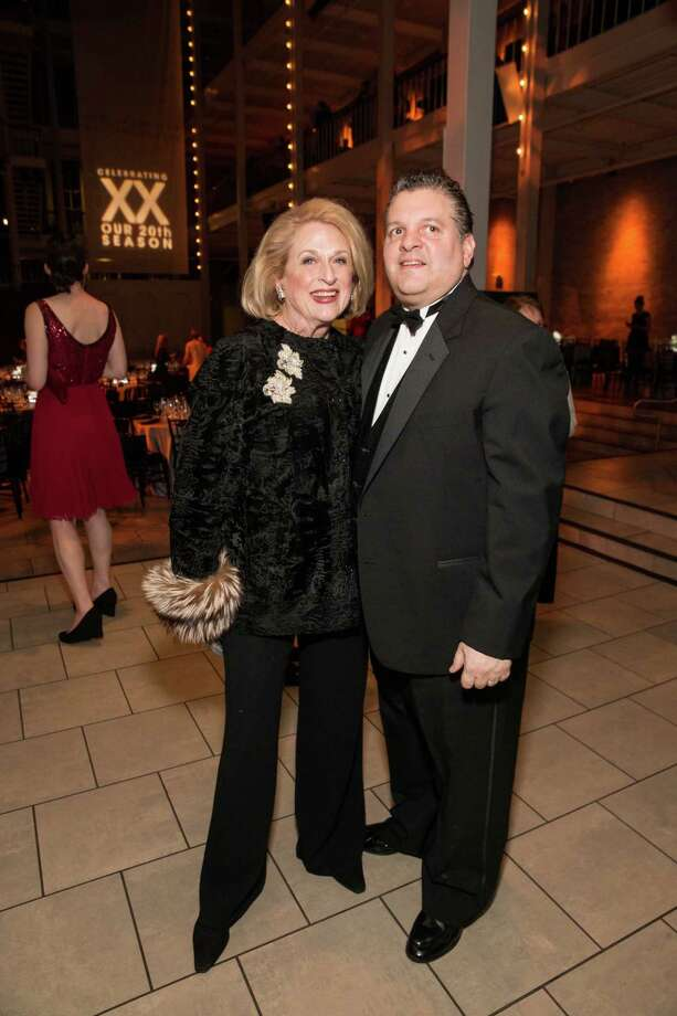"Sally Debenham and John Konstin at Smuin Ballet's ""XXTRAVAGANZA"" Gala on March 7, 2014. Photo: Drew Altizer Photography/SFWIRE, Drew Altizer Photography / ©2014 by Drew Altizer, all rights reserved"